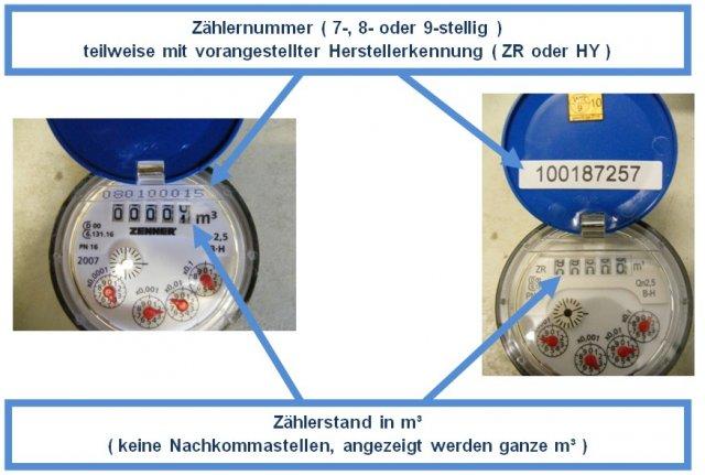 Gut gemocht Online-Formular zur Wasserzählerablesung (ssl) - Stadt Schwabmünchen MC09